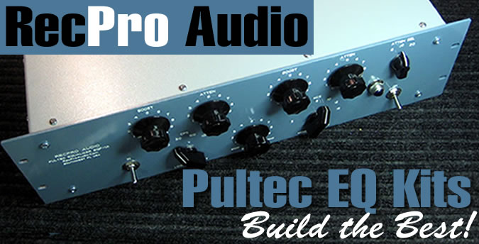 RecPro Audio Pultec EQ Kits