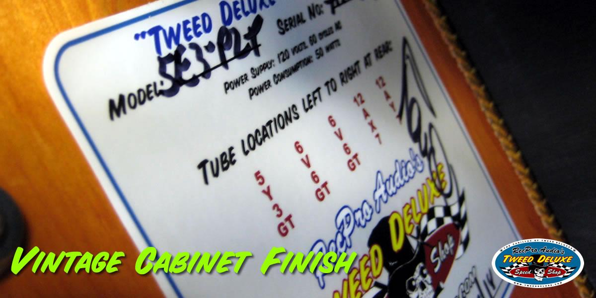 Tweed Deluxe Speed Shop