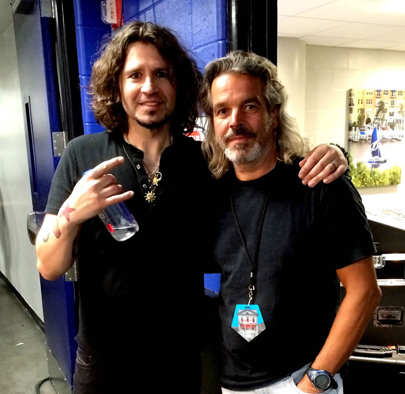 Phil X and Rondo Bon Jovi Tampa February 2017
