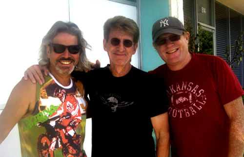 Rondo with Bon Jovi's Obie O'Brien and Mike Rew at Clear Track Studios